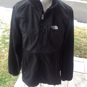 Mens fleece north face jacket.